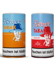 Farmer Tabak Orange oder Rot