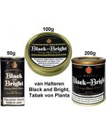 "van Halteren ""Black and Bright"", Tabak von Planta"